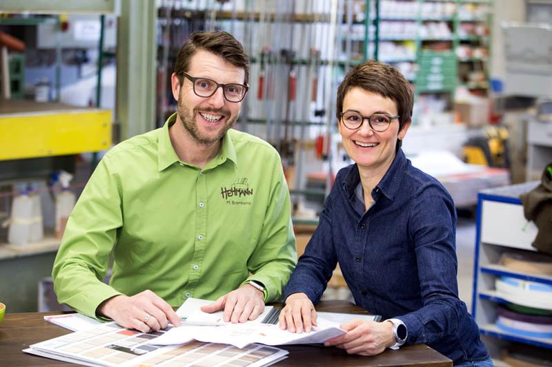 Markus Bramkamp und Sandra Hehmann